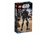Star Wars Lego Imperial Death Trooper Brand New 75121