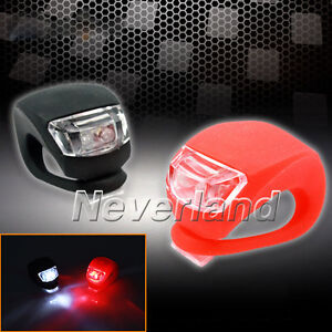 2-Pcs-Silicone-Bike-Bicycle-Cycling-Head-Front-Rear-Wheel-LED-Flash-Light-Lamp
