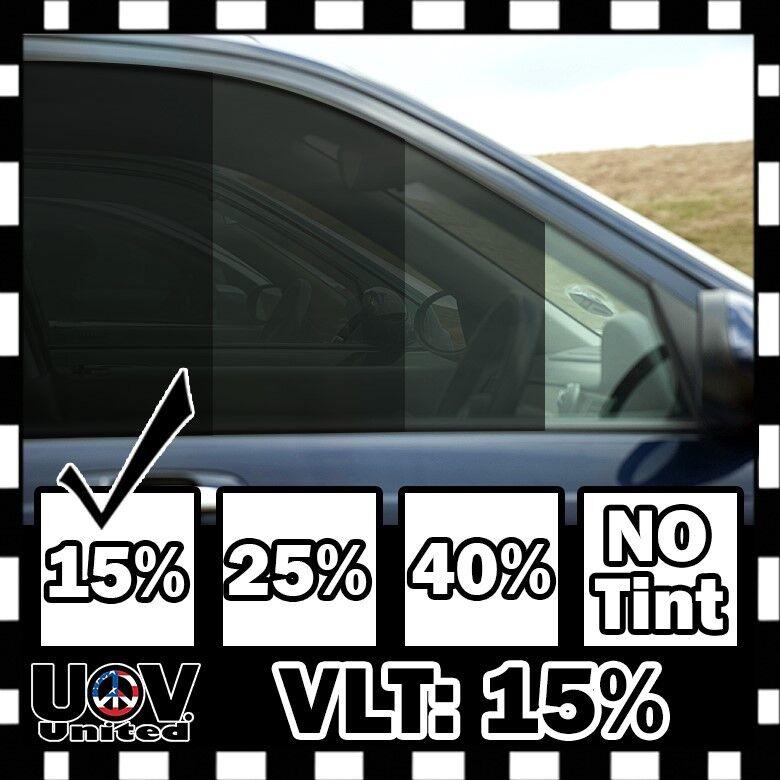 Green 25/% VLT Auto Window Tinting Film 20 Inch Wide x 20 Feet Long Roll