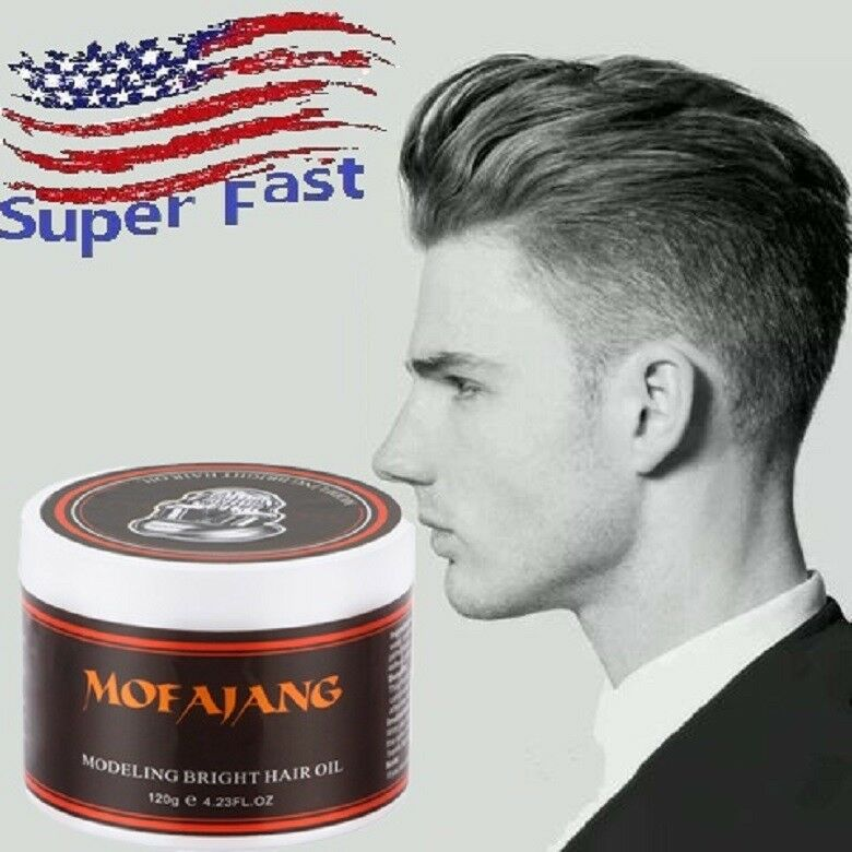 Cream Slicked Oil For Men Hair Pomade Strong Style Restoring