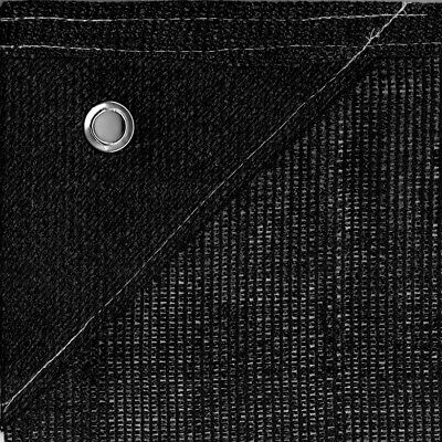 Bauzaunnetz 1,80m x 3,45m schwarz Sichtschutz Bauzaun Netz