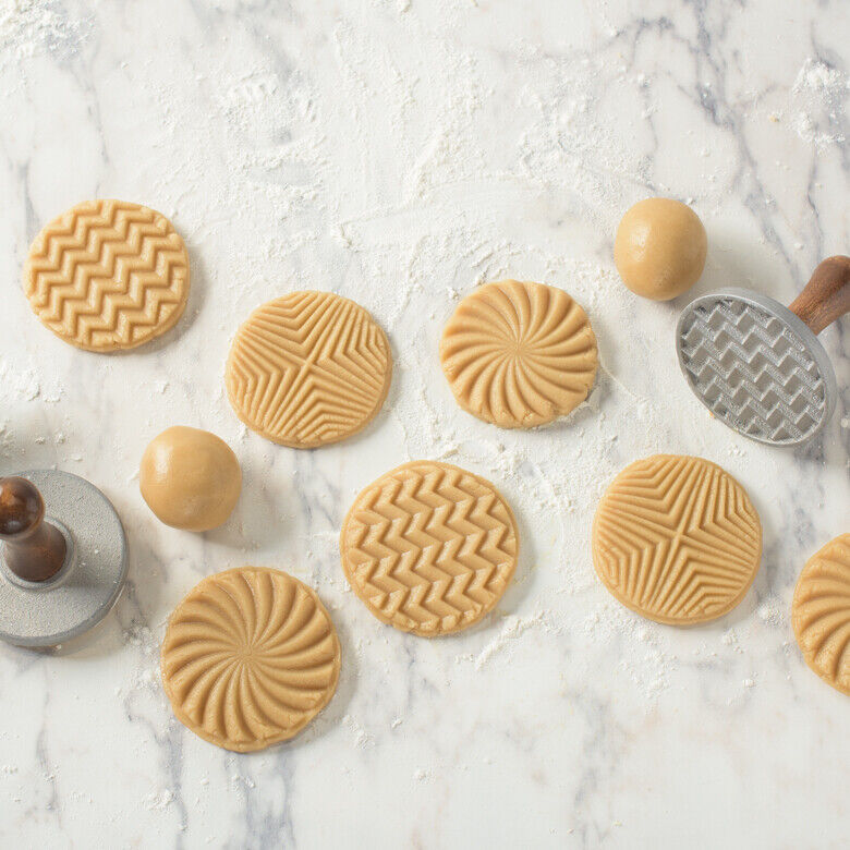 Nordic Ware Geometric Cookie Stamps