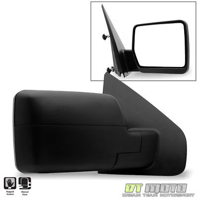 [Passenger Side,Right] 2004-2014 Ford F150 F-150 Pickup Truck Manual View Mirror