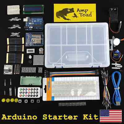 Arduino Development Starter Kitttl Breadboard Resistor Led Funduino Motor Uno