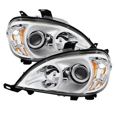 Mercedes Benz 98-01 W163 ML-Class Clear Projector Headlights ML320 ML430 ML55 for sale  Shipping to Ireland