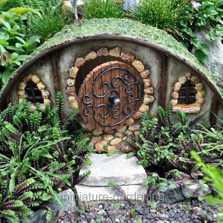Miniature Fairy Garden Hobbit House