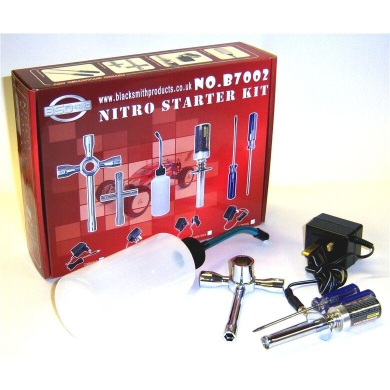 RC Nitro Starter Kit Glow Start Starter Charger 350cc Refill Bottle R/C 2100mah