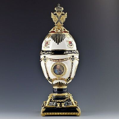 Imperial Eagle Faberge Inspired Egg on Rummage