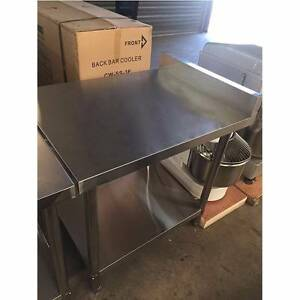 New Stainless Steel Bench Table W700 x D900mm -Unbeatable Price Beverley Charles Sturt Area Preview