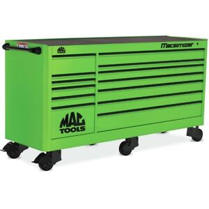 "MACSIMIZER™ 13-DRAWER WORKSTATION - LIME GREEN MB1903A-LG ""NEW"""