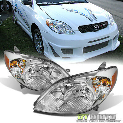 For 2003-2008 Toyota Matrix Headlights Headlamps Replacement 03-08 Left+Rght Set