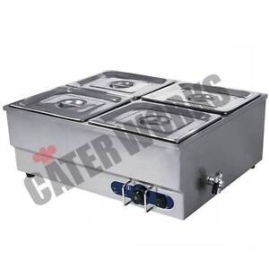 STIANLESS STEEL COMMERCIAL FOOD WARMER / BAIN MARIE – RRP $495.00 Beverley Charles Sturt Area Preview