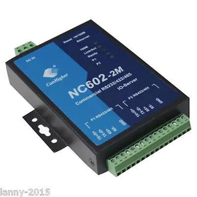 1pc New Kang Hai Nc602-2md Serial Server
