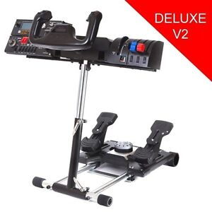 Stand for Saitek Flight Pro Flight Yoke System Wheel Stand Pro Simulator