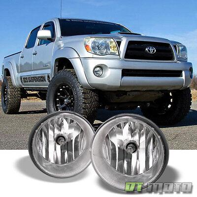 For 2005-2011 Toyota Tacoma 07-13 Tundar Bumper Fog Lights Lamps w/Switch Chrome