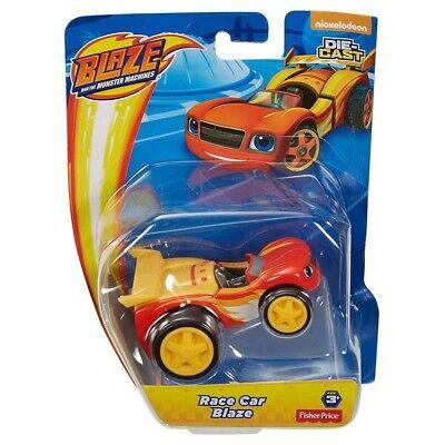 Blaze and the Monster Machines Race Car Blaze Die-Cast Original Fisher-Price](Monster Machines)