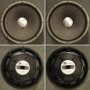 "Wanted 1-2 JBL E-130 15"" Speakers in good condition"