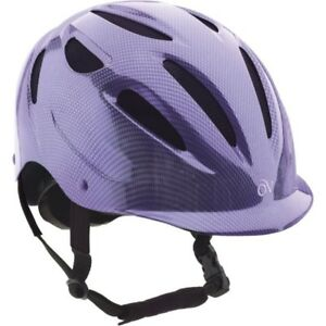 Ovation Protégé Riding Helmet with bag