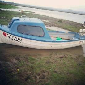 Wilbert Fishing Boat With New Trailer And Outboard