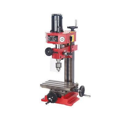 240x145mm Micro Miniature Drilling Milling Lathe Machine Siegx1220v 150w