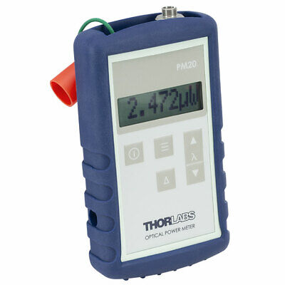 New - Thorlabs Pm20ch Handheld Fiber-optic Power Meter 800..1700nm -50..23db