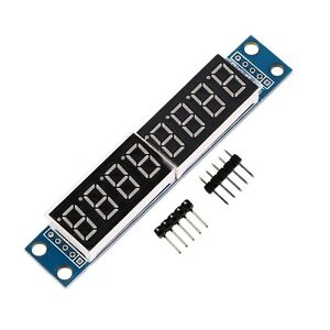 MAX7219 LED Dot matrix 8-Digit Digital Display Control Module for Arduino H7