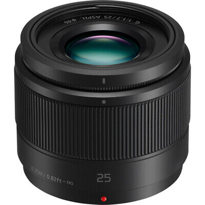 Panasonic H Lumix G Lens 25mm F1.7 ASPH Mirrorless Micro Four Thirds