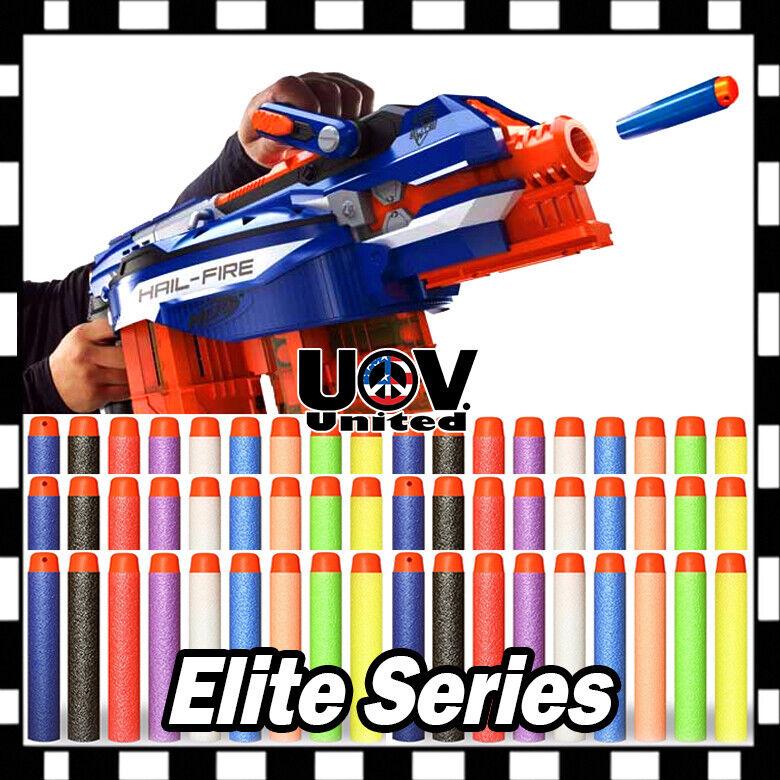 Lot Refill Soft Bullet Darts for Nerf N-strike Elite Series