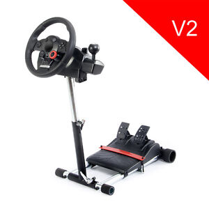 Stand & Racing Wheel: Logitech Driving Force GT (like New!)