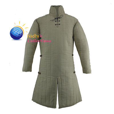 Medieval Knight Armor Gambeson Outfit Clothing sca/Hema/Larp Dress Reenactment - Medieval Clothing