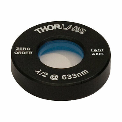 71 Thorlabs Wph05m-633 - 12 Zero-order Half-wave Plate 633nm