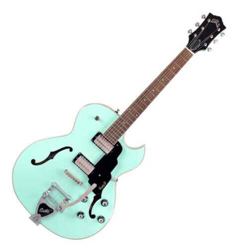 Guild Starfire Series 1 SC Seafoam Green with Vibrato Arch Top Electric Guitar
