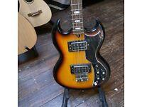Vintage Rare Kay K-2B Bass Guitar