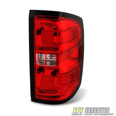 2014-2018 Chevy Silverado 1500 Tail Light Replacement Brake Lamp Passenger Side ()