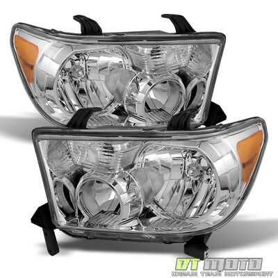 For 2007-2013 Toyota Tundra 2008-2017 Sequoia Headlights Aftermarket Left+Right