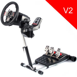 Racing Simulator Steering Wheel Stand Pro for Logitech G25 or G27  - Deluxe, New