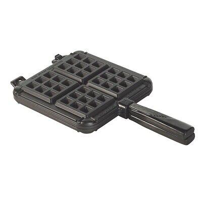 15040 Cast Aluminum Stovetop Belgium Waffle Iron