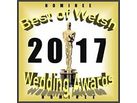 Welsh Wedding Photographer of the year 2017 nominee - Cardiff, Newport, Swansea & Surrounding areas