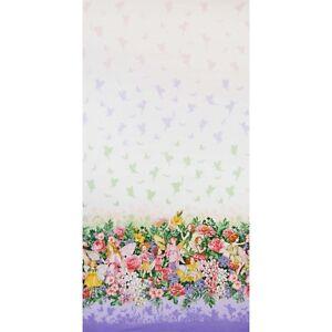 Michael Miller Fabric - Blossom Fairy - Border Print - Half Metre- 100% Cotton