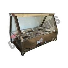 Heated Wet 6 x GN1/2 Pan Bain Marie Counter-top Display Beverley Charles Sturt Area Preview