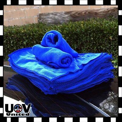 25 PCS Microfiber Cleaning Cloth Towel No-Scratch Rag Car Polishing Detailing