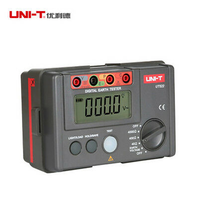 1pcs Uni-t Ut522 Megger Digital Earth Ground Insulation Resistance Tester New