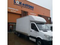 Mercedes Sprinter Luton van with Taill Lift