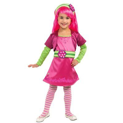 NWT Deluxe Strawberry Shortcake Raspberry Tart Halloween Costume S M 4-6 8-10