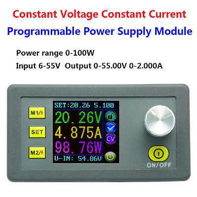 Dc 50v 5a Programmable Constant Voltage Current Regulated Power Supply Module