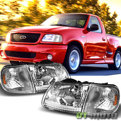 1997-2003 Ford F-150 F150 Expedition Headlights+Corner Lights Signal Lamps 97-03 02 Ford Expedition Corner