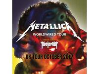 Metallica 'WorldWired Tour' Sunday 22nd Oct 2017 @The O2 Arena London