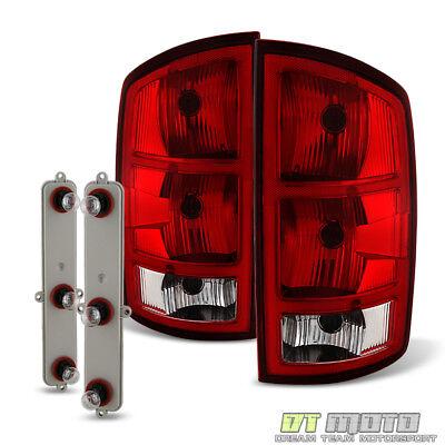 2002-2006 Dodge Ram 1500 2500 3500 Pickup Tail Lights Brake Lamps+Circuit Board Dodge 1500 Pickup Tail Lamps