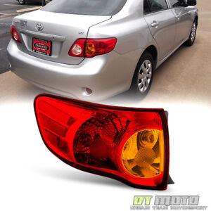 For 2009-2010 Toyota Corolla Tail Light Brake Lamp Outer Left Driver Side 09-10