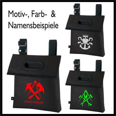 Dokumententasche  HANDWERK  Zunft  /  schwarz  /  50 Wappen zur Auswahl ! ()